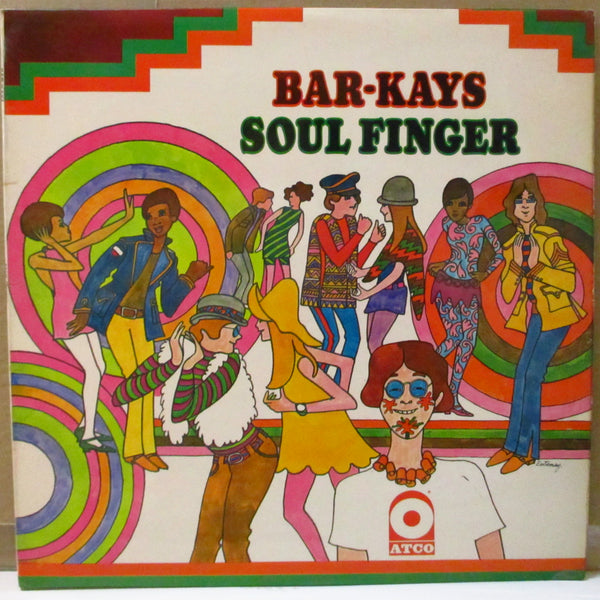 BAR-KAYS (バーケイズ)  - Soul Finger (UK Orig.Stereo LP/CS)