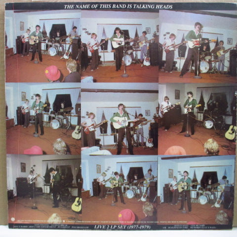 TALKING HEADS - The Name Of This Band Is Talking Heads (UK Orig.2xLP)