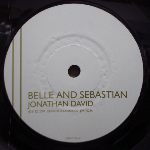 BELLE & SEBASTIAN - Sing Jonathan David (UK Orig.7)