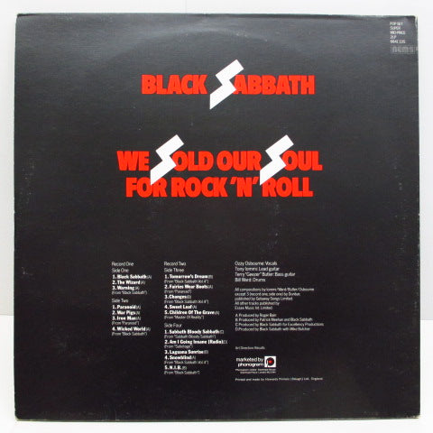 BLACK SABBATH - We Sold Our Soul For Rock 'N' Roll (UK Orig.2xLP+Booklet/GS)
