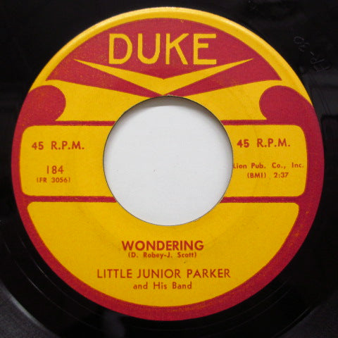 JUNIOR PARKER(LITTLE JUNIOR PARKER) - Wondering (Orig)