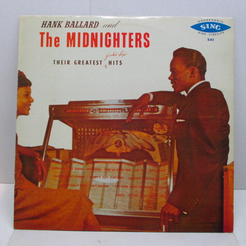 HANK BALLARD & THE MIDNIGHTERS - Thier Greatest Juke Box Hits (US Reissue Mono)
