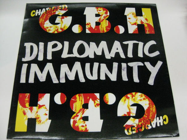 (Charged) G.B.H - Diplomatic Immunity (UK Orig.LP)