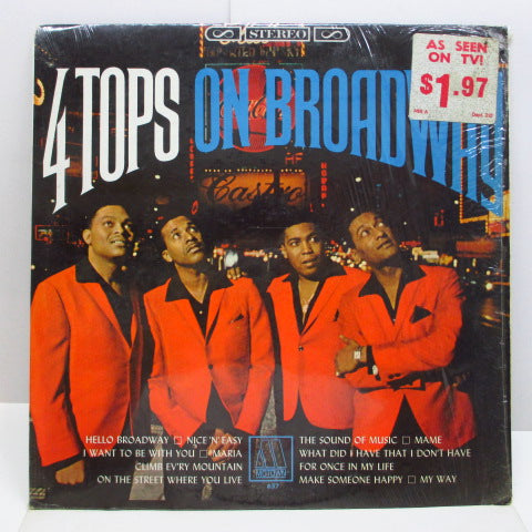 FOUR TOPS - On Broadway (US Orig.Stereo LP)