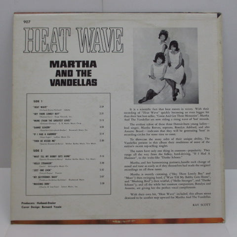 MARTHA & THE VANDELLAS - Heat Wave (US Orig.Mono)
