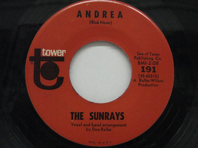 SUNRAYS - Andrea / You Don't Phase Me