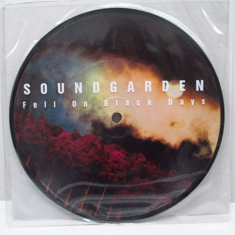 "SOUNDGARDEN - Fell On Black Days (UK Ltd.Picture 7"")"