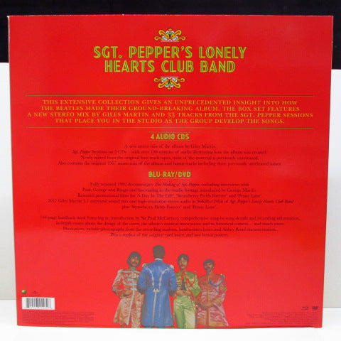 BEATLES - Sgt.Peppers Lonely Hearts Club Band Deluxe Edition (EU Ltd.4xCD, Blu-Ray,DVD Box)