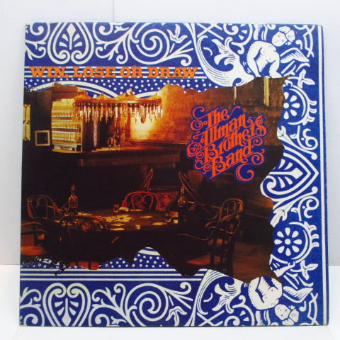 ALLMAN BROTHERS BAND - Win, Lose Or Draw (UK Orig.LP/GS)