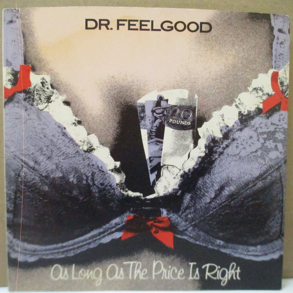 "DR.FEELGOOD - As Long As The Price is Right (UK Orig.Purple Vinyl 7""+Purple PS)"