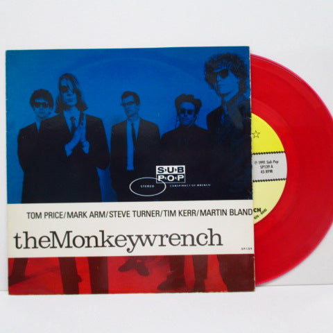 "MONKEYWRENCH, THE - Bottle Up And Go +2 (US Ltd.Red Vinyl 7"")"
