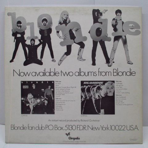 "BLONDIE, THE - (I'm Always Touched By Your) Presence Dear +2 (UK Orig.12"")"