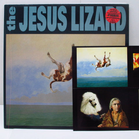 JESUS LIZARD, THE - Down (UK Ltd.LP+Postcard, Poster)