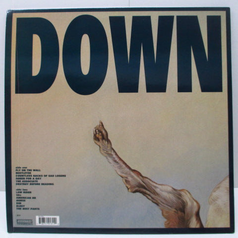 JESUS LIZARD, THE - Down (UK Ltd.LP+Postcard Poster)