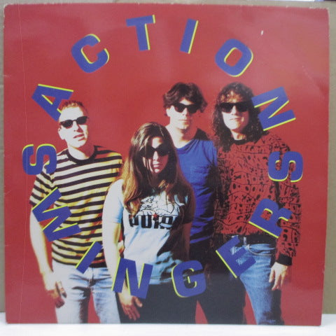 ACTION SWINGERS - S.T. (UK Orig.LP)
