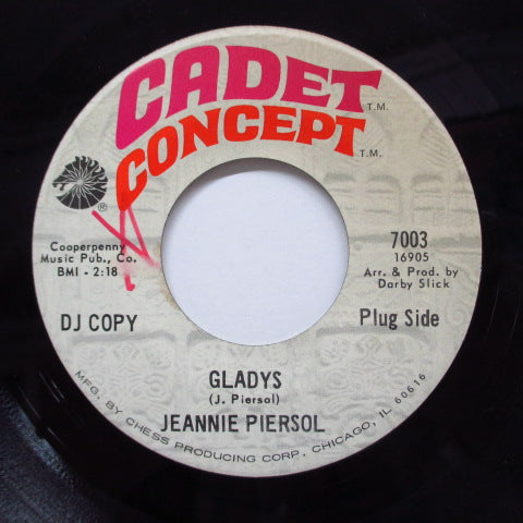 JEANNIE PIERSOL - With Your Love / Gladys