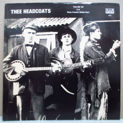 "HEADCOATS - Time Will Tell (US Ltd.Black Vinyl 7"")"