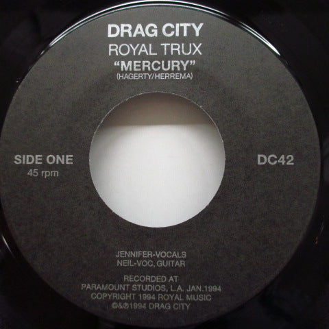 "ROYAL TRUX - Mercury (US Orig.7"")"