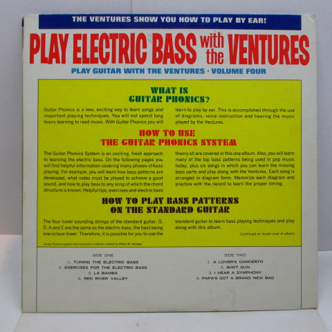 VENTURES - Play Guitar With The Ventures Volume 4 (US 60's 2nd Press Mono)