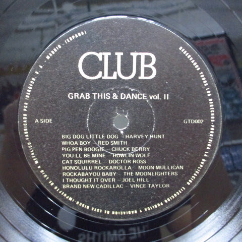 V.A. - Grab This & Dance Vol.2 (UK Orig.LP/黒ラベ)