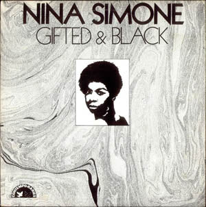 NINA SIMONE - Gifted & Black (US Ltd.Reissue LP/New)