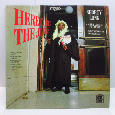 SHORTY LONG - Here Comes The Judge (US Orig.Stereo LP)
