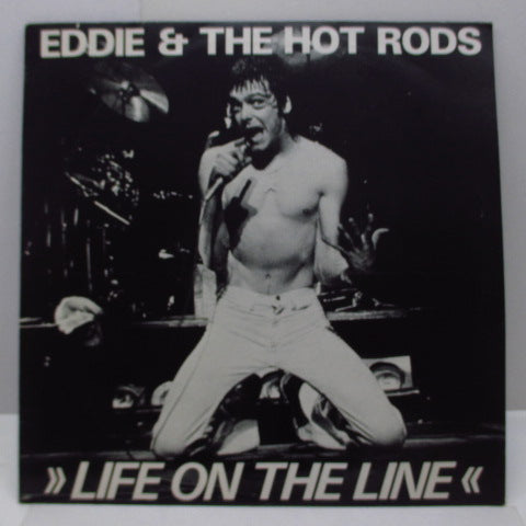 "EDDIE AND THE HOT RODS - Life On The Line (UK Ltd.12"")"