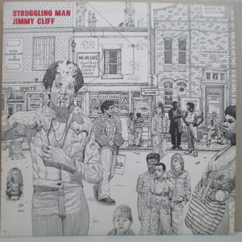 JIMMY CLIFF - Struggling Man (UK 2nd Press.LP)