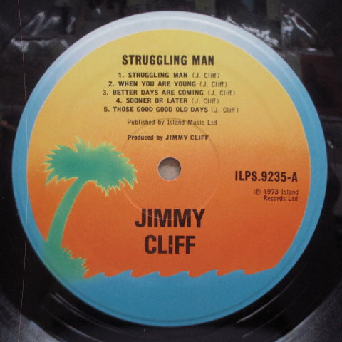 JIMMY CLIFF-Struggling Man (UK 2nd Press.LP)