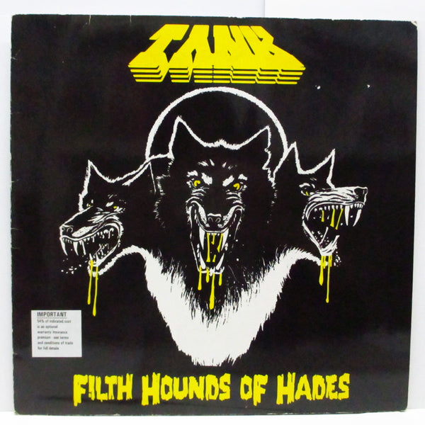 TANK - Filth Hounds Of Hades (German Orig.LP/Stickered CVR)
