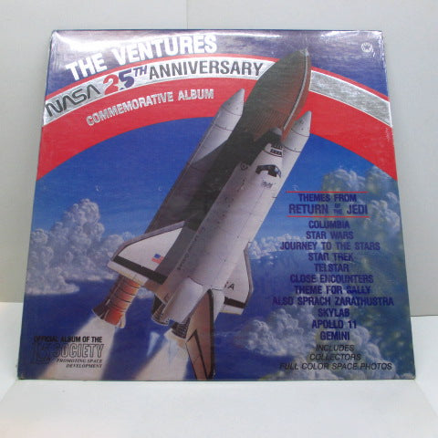 VENTURES - Nasa 25th Anniversary (US '84 Limited Press Clear Vinyl  LP/Seald)