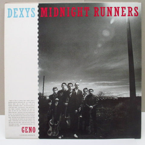 DEXYS MIDNIGHT RUNNERS - Geno (UK EMI RI)