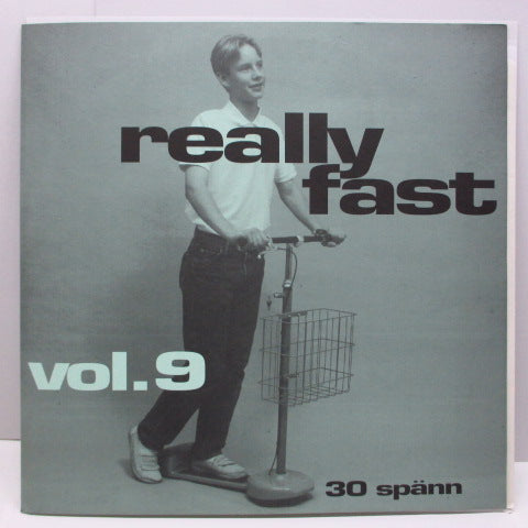 V.A. - Really Fast Vol.9 (Sweden Orig.LP)