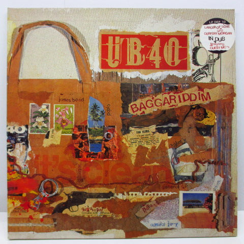 "UB40 - Baggariddim (UK Orig.LP+12""-EP/Stickered GS)"