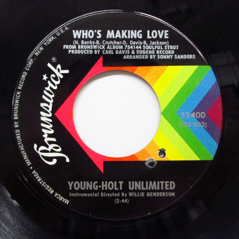YOUNG HOLT UNLIMITED - Who's Making Love (Orig)