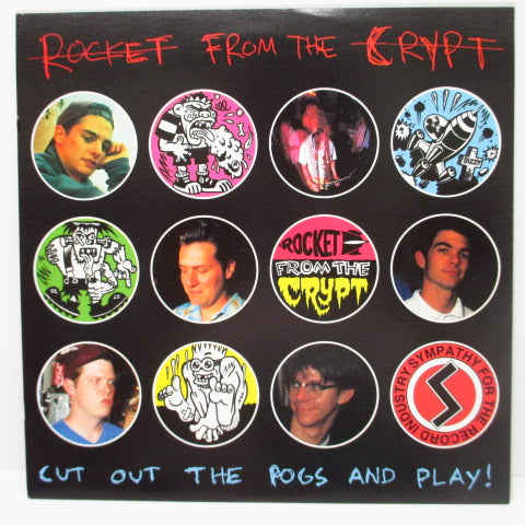 "ROCKET FROM THE CRYPT - Boychucker (US Reissue.7""+2 xメンコ)"