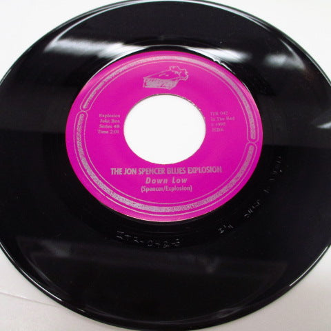 "JON SPENCER BLUES EXPLOSION, THE - Get With It / Down Low (US Orig.7"")"