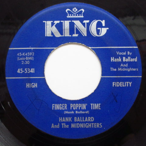 HANK BALLARD & THE MIDNIGHTERS - Finger Poppin' Time b/w I Love You〜 (Orig)