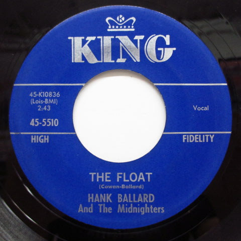 HANK BALLARD & THE MIDNIGHTERS - The Float / The Switch-A-Roo (Orig)