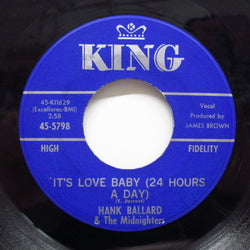 HANK BALLARD & THE MIDNIGHTERS - It's Love Baby (24 Hours A Day) (Orig)
