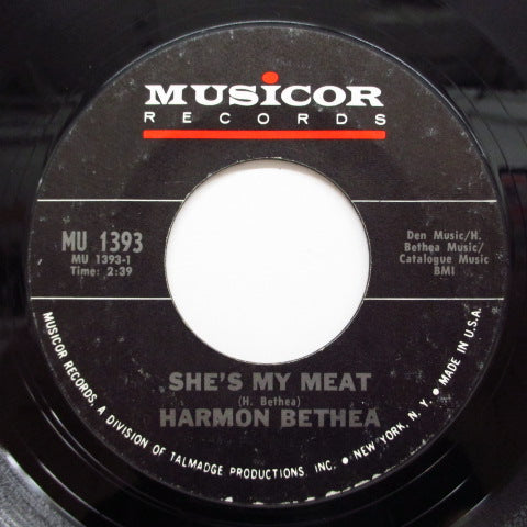 HARMON BETHEA (MASKMAN)-It Could Happen To You / She's My Meat
