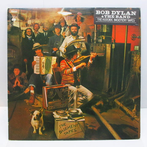 BOB DYLAN & THE BAND - The Historic Basement Tapes (DUTCH-UK Export 2xLP/Stickered GS)