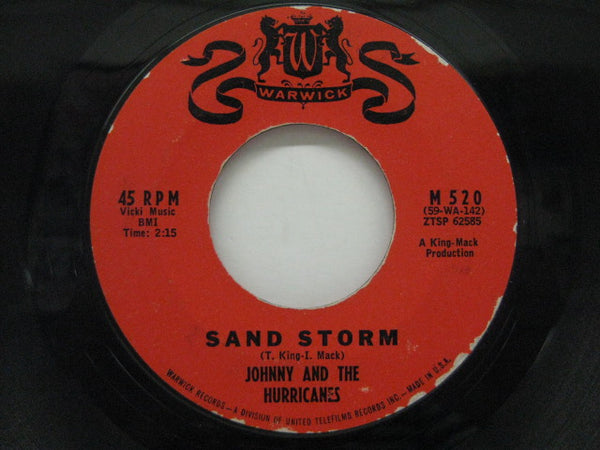 JOHNNY & THE HURRICANES - Sand Storm (2nd Press)