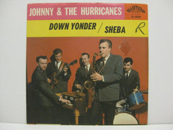 "JOHNNY & THE HURRICANES - Sheba / Down Yonder (US Orig.7""+PS)"