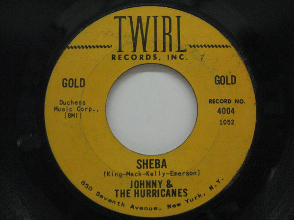 JOHNNY & THE HURRICANES - Sheba / Beatnik Fly (Orig/Twirl-4004)