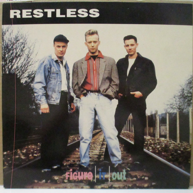 RESTLESS (レストレス)  - Figure It Out (Japan Orig.LP+Poster)