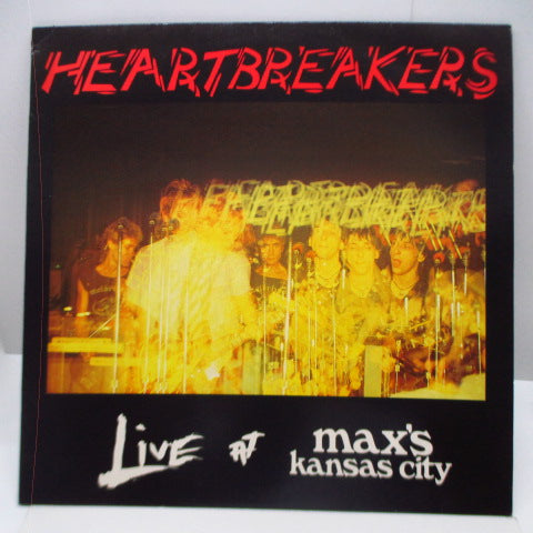 JOHNNY THUNDERS & THE HEARTBREAKERS - Live At Max's Kansas City (UK Orig.LP)