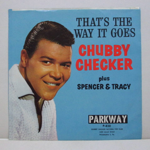 CHUBBY CHECKER - The Fly (Orig+PS)