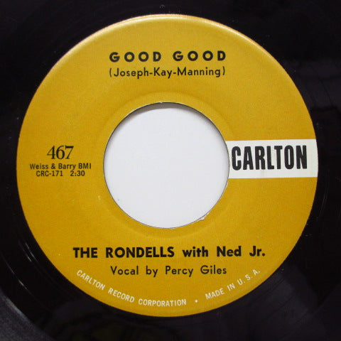 RONDELLS with NED JR. - Good Good (Orig)