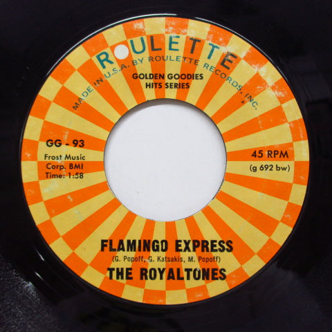 GONE ALL STARS / ROYALTONES - 7-11 / Flamingo Express (Reissue)